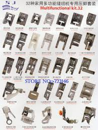 toyota home aliexpress com buy home sewing parts 32 piece presser foot sew