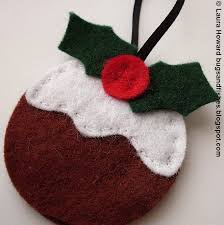 bugs and fishes by lupin felt ornament how to 3 christmas puddings