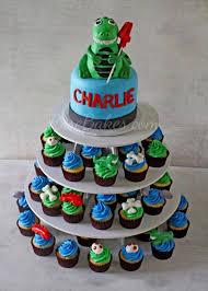 dinosaur cakes behance
