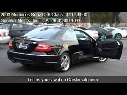 2003 mercedes amg for sale 2003 mercedes clk class clk500 coupe for sale in montcl