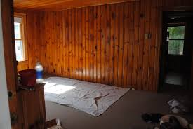 house by holly to paint knotty pine or not paint knotty pine