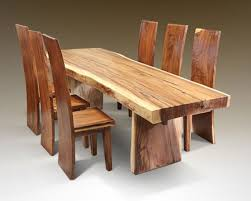 Unfinished Wood Dining Room Chairs Creative Decoration Solid Wood Dining Room Table Excellent Ideas