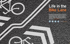 life in the bike lane magazine project on behance