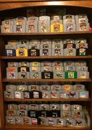 very cool way to display n64 games since they have no side label