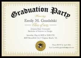 college graduation invitation templates college graduation party invitations kawaiitheo