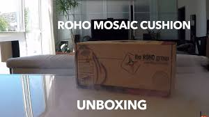 Roho Cusion Roho Mosaic Cushion Unboxing Youtube