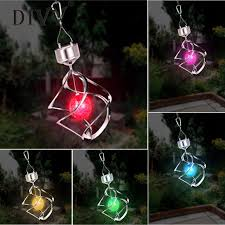 wind spinners with led lights divv solar power light wind spinner led light garden courtyard