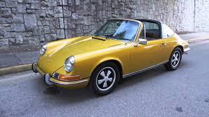1972 porsche 911 targa for sale 1972 gold metallic porsche 911t targa for sale at motorcar studio