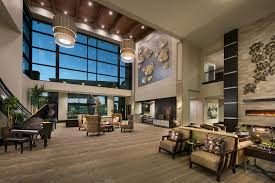 interior design for home lobby our work national award winning senior housing interior design