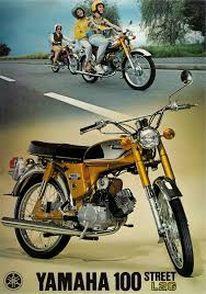 yamaha brochure l2g 100 1971 1972 1973 1974 sales catalog