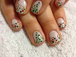 brush up and polish up cnd shellac christmas nail art 7