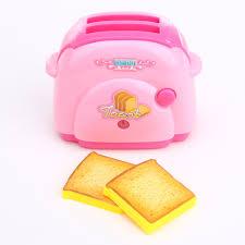 pretend kitchen furniture mini toaster toys pretend play toys home application