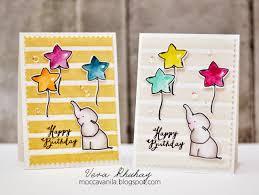21 birthday card design moccavanila by vera rhuhay birthday card with diy stripe foam stamp