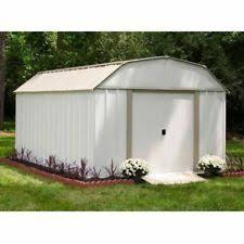 Backyard Storage House Metal Shed Ebay