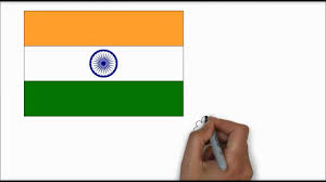 indian flag in hd learn to draw youtube