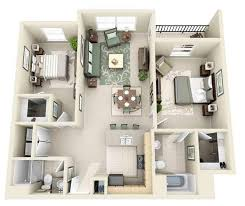 two bedroom two bathroom house plans 3d modular home floor plan android apps on play