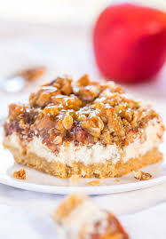 Pumpkin Bars With Crumb Topping Caramel Apple Cheesecake Crumble Bars Averie Cooks