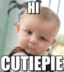 Hi Memes - hi sceptical baby meme on memegen