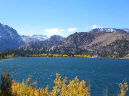fall colors walker lake picture mammoth lakes california
