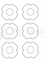 coloured templates best 25 poppy template ideas on pinterest memorial day poppies
