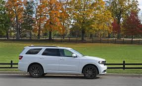 jeep durango interior 2018 dodge durango in depth model review car and driver
