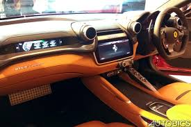 ferrari dashboard ferrari gtc4lusso and gt4lusso t launched in india autobics