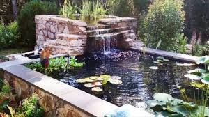 what should you build backyard ponds and waterfalls to make it