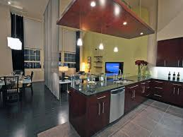 kitchen divider ideas living room and kitchen divider curved grey granite stone kitchen