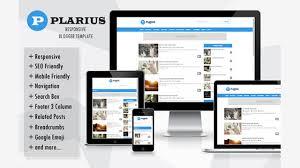 plarius responsive simple blogger templates www stresmikir
