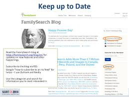 What I Wish Everyone in the LDS Church Knew About Family History SlideShare