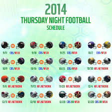 nfl 2014 15 schedule how does cbs s prime time slate compare with