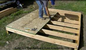 How To Build A 10x10 Shed Plans by Download How To Build A Shed Floor Zijiapin