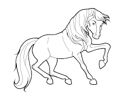 christmas christmas horse coloring pages