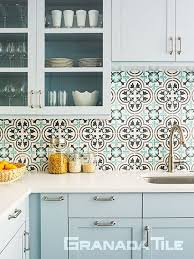 Granada Kitchen And Floor - residential cement tiles concrete floor and wall tiling