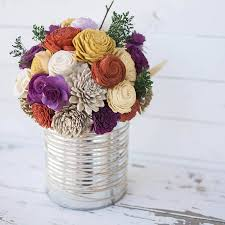 Signature Home Decor Our Signature Recycled Tin Can Centerpiece Is The Perfect Addition
