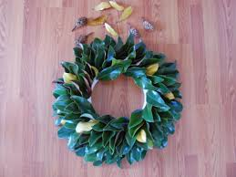 how to make a fresh magnolia wreath diy diy network made