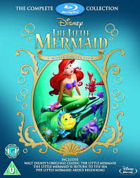 amazon com the little mermaid complete collection blu ray