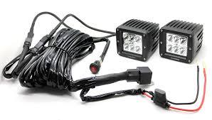 3 inch fog light kit heise 3 inch led cube spot light kit he cl3s2pk