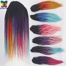 Synthetic Hair Extension by Hair Sw Long Senegalese Twist Kanekalon Synthetic Hair Extension
