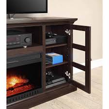 Fireplace Console Entertainment by Whalen Media Fireplace Console For Tvs Up To 70