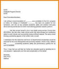3 grad recommendation letter format quote templates