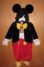 Mickey Mouse Costume Halloween Mickey Mouse Costume Ebay