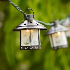 Old Lantern Light Fixtures by Amazon Com Old Fashioned Metal Moon Lantern Party String Lights