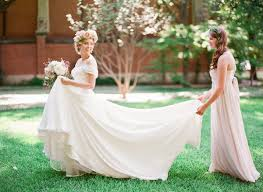 lord and dresses for weddings dreamy floral crown bridal style junebug weddings