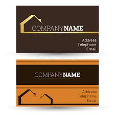 Sales Business Card Business Card Real Estate Sales Stock Vector Image 47524141