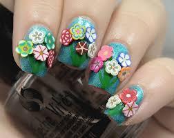 nail art the digit al dozen turns five bouquets of fimo
