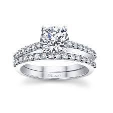 barkev s white gold diamond engagement ring set 7572s barkev s