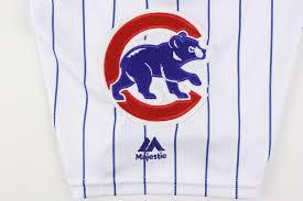 Cubs Flag Lot Detail 2016 Aroldis Chapman Chicago Cubs Game Worn