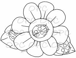 five cute ladybug coloring pages ready to print five ladybug