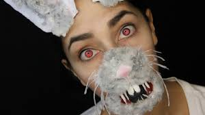 Halloween Bunny Makeup by Snapchat Bunny Filter Makeup Tutorial Youtube